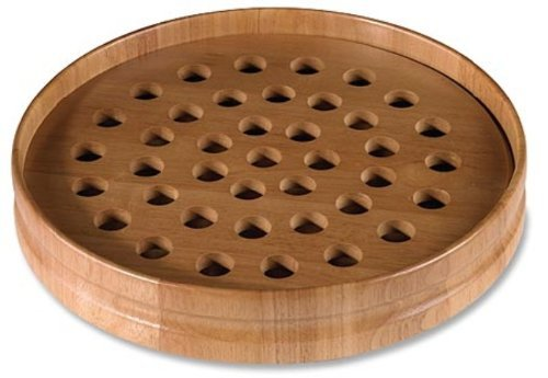 Pecan Stain Communion Tray - Christian Brands Church Supply by Christian Brands by Christian Brands