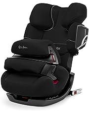 Cybex - Silla de coche grupo 1/2/3 Pallas 2-Fix, silla de coche 2 en 1 para niños, para coches con y sin ISOFIX, 9-36 kg, desde los 9 meses hasta los 12 años aprox.Pure Black