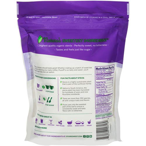 Pyure Organic All-Purpose Blend Stevia Sweetener, 1 lb (16 oz) by Pyure (Image #4)