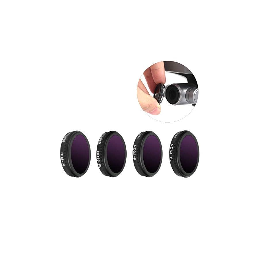 B bangcool 4PCS Lens Filter Kit Portable Drone Lens Filter for DJI Mavic 2 Zoom
