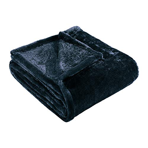 Superior Ultra-Plush Fleece Blankets, Thick, Cozy, and Warm Premium Quality Fleece, Velvety Soft Bed Blankets and Throws - 90