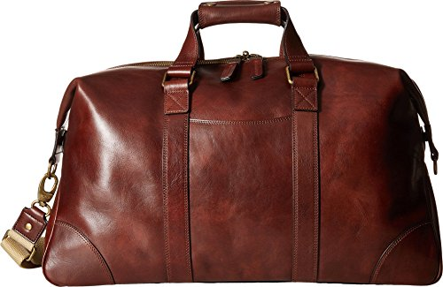 - Bosca Men's Dolce Collection - Duffel Dark Brown One Size