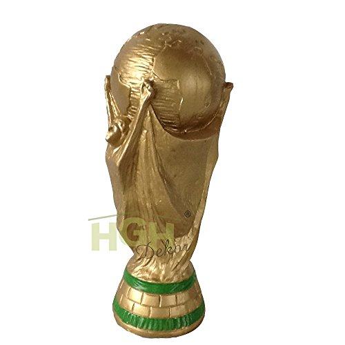 Fussball Fußball Pokal WM Trophäe Replika Figur Spieler Fan Dekoration Kunstharz