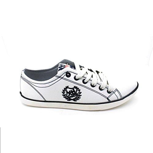 Xti, Chaussures À Lacets Pour Hommes Blancs