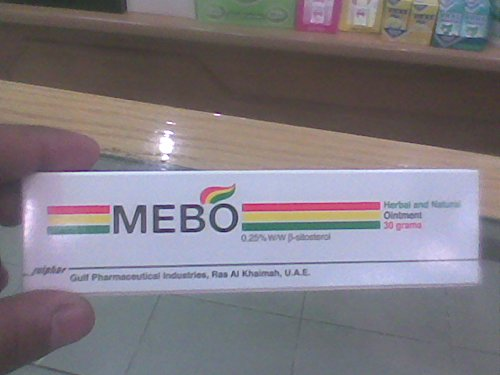 2 Pcs of Mebo Burn Fast Pain Relief Healing Cream Leaves No Marks Total 60 Grams (2 Tubes)