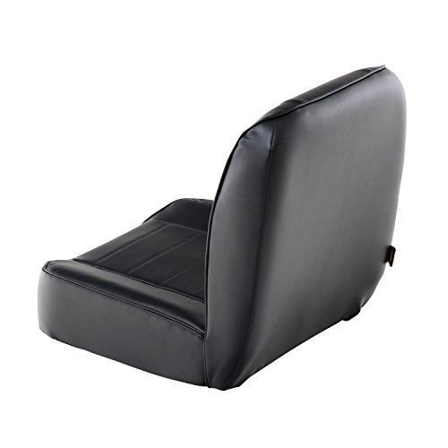 Back Suspension Seat - Smittybilt 44801 Black Low Back Seat
