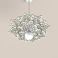 Lampadario a sospensione Design Mandala Lampada Sospensione Soffitto Arredamento