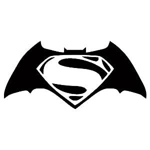 "Batman V Superman Decal / Sticker - Black 4"" at Gotham City Store"
