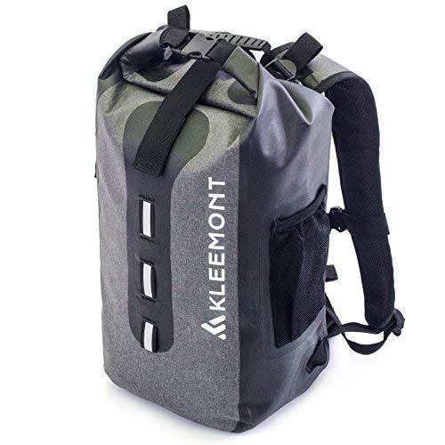 RollTop Waterproof Backpack Dry Bag - Padded Shoulder Straps