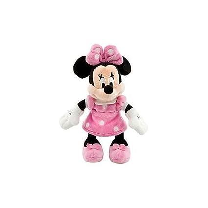 Amazoncom Disney Minnie Mouse Mini Bean Bag Plush Pink Dress