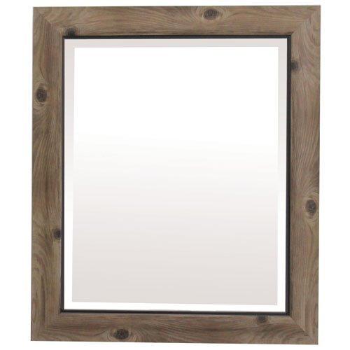 Yosemite Home Decor Yosemite Mirrors, Small, - Black And Gray Bathroom Mirrors