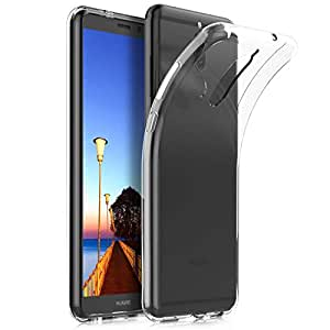 Huawei Mate 10 Lite Case, Smooth Silicone Back Case Cover for Huawei Mate 10 Lite, clear