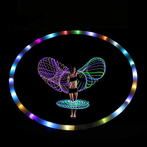 Led Light Up Hula Hoops in US - 6