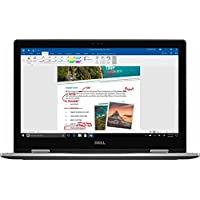 2017 Dell Inspiron 2-in-1 15.6 1920 x 1080 Full HD Touch-Screen Laptop Dual Core i5-7200U, 8GB RAM, 256GB SSD,HDMI, USB 3.0, Windows 10