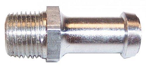 "Northern Z17607 Aluminum Overflow Fittings - 1/8"" NPT thread & barb"