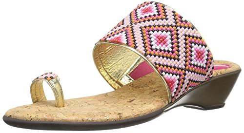 Love & Liberty Women's Sahalie-Ll Toe Ring Sandal - Fuchs...