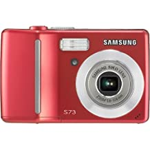 Samsung Digimax S73 7.2MP Digital Camera with 3x Optical Zoom (Red)