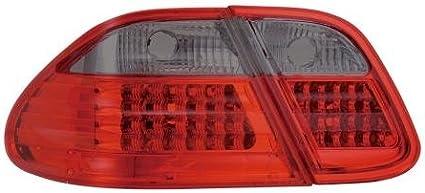 03/en rouge//noir led arri/ère Feux arri/ère pour Mercedes CLK C208/W208/98