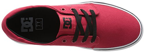 DC Shoes Trase TX - Zapatillas Bajas Para Niña Rojo (Athletic Red)