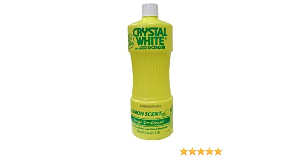 Amazoncom Octagon Crystal White Liquid Detergent Lemon 40 Oz