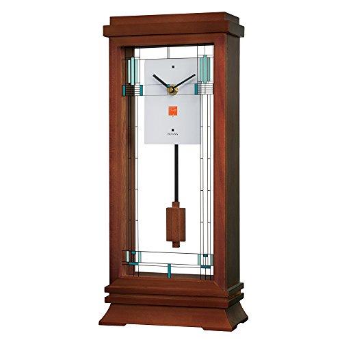 Bulova B1839 Frank Lloyd Wright Willits Mantel Clock, 14