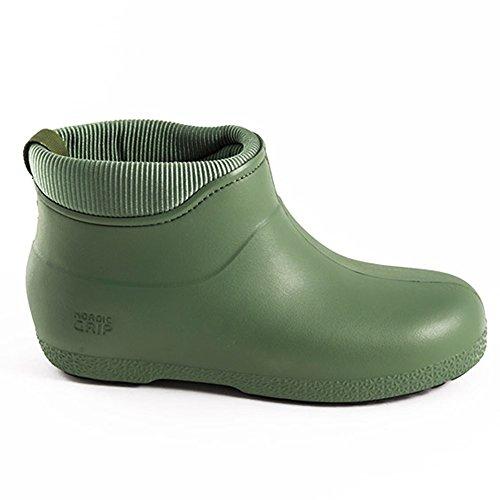 Agarre nórdico moja Winterproof botas (37, oliva) Aceituna