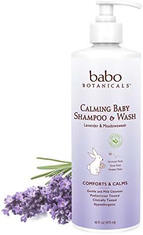 Baby Shampoo: Babo Botanicals Calming