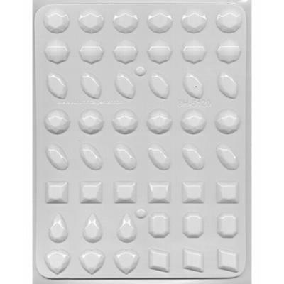 Isomalt Crystals with 3 Jewel Gem Molds - Large, Medium, and Break-apart Hard Candy Molds by Taradactile (Image #5)
