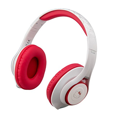Hello Kitty Bluetooth Headphones with Microphone, Voice...