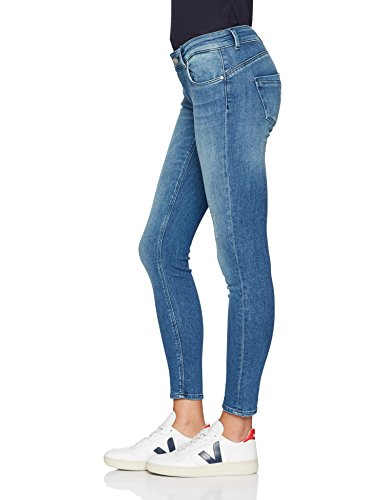 Medium ONLY Femme Jean Gris Denim Skinny Blue NOS r1T17xqX