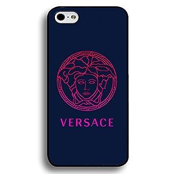 Unique Versace Logo Funda For Iphone 6 Plus/6S Plus,Black Hard Plastic Iphone