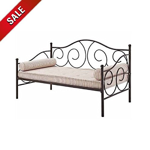 Vintage Daybed Frame Metal Daybed Bedding Twin Size Bedroom ...