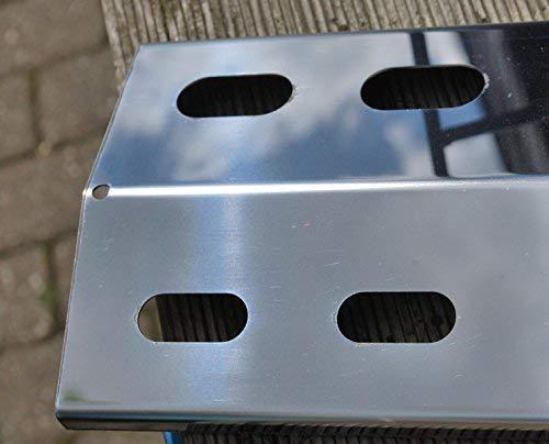 Enders Gasgrill Flammenabdeckung : Manufaktur stollenwerk 395mm x 120mm edelstahl flammenverteiler