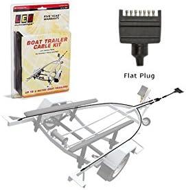 Boat Trailer Wiring >> 8m Flat Plug Boat Trailer Wiring Kit Amazon Com Au Automotive