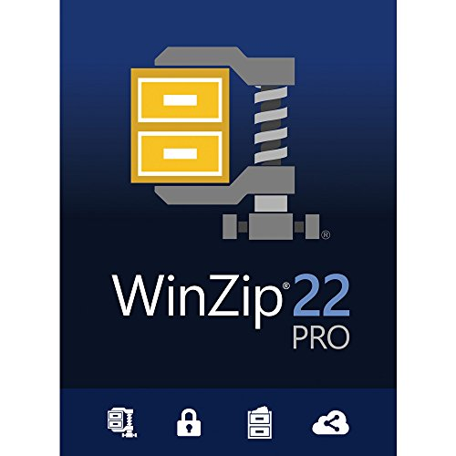 Winzip 22 Pro File Compression And Decompression Software For Pc  Download