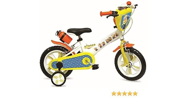 Bicicleta de 12 pulgadas, diseño de los MINIONS de Gru: Amazon.es ...