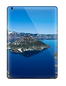 Ipad Air Case, Premium Protective Case With Awesome Look - Crater Lake Oregon