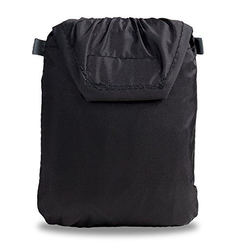 hardwrk Backpack Pro - Business Office Rucksack in neutralem Design - schwarz - Deuter Airstripes-Rückensystem - Extra Fach Tasche für Apple iPad MacBook Laptop Notebook Regenschutz