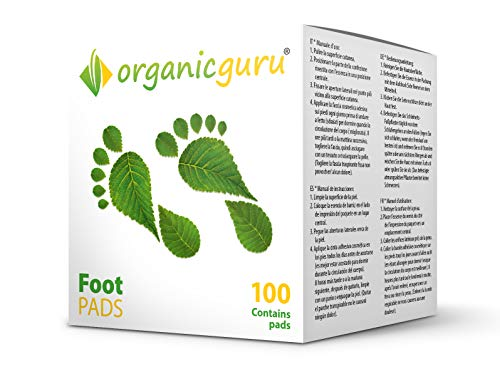 Detox Foot Pads – 100 Pads = 50 Day Supply