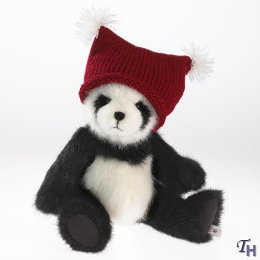 ENESCO Boyds Plush Holiday Heirloom - Cody the Panda in K...