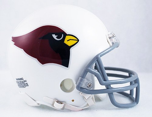 Arizona Cardinals 1960-2004 Throwback NFL Riddell Replica Mini (Riddell Arizona Cardinals Replica Helmet)