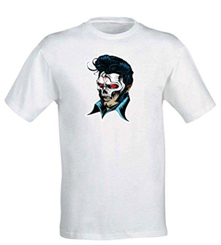 Uomo Disegno Rap T Italiano shirt Wonderwall Donna Bianco Salmo TzySOcPaWg