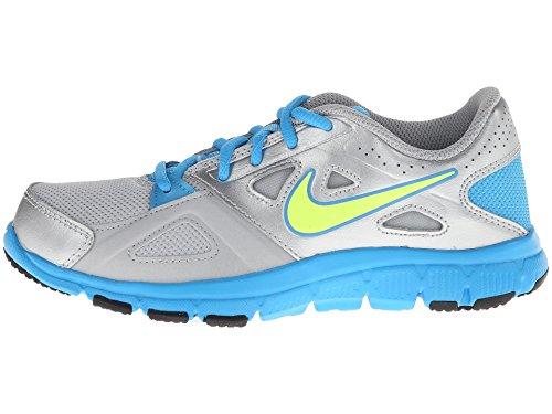 Plata Nike Flex Juvenil Supremo Tr 2 Haciendo Zapatos-mttlc / VLT Ic-blanco-negro-3 Mttlc Silver/Vlt Ic-White-Blk