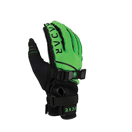 Radar Ergo K Inside-Out Gloves Green/Yellow (2018)