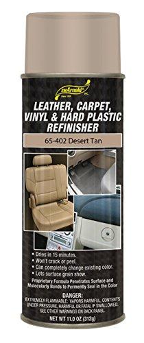 SM Arnold (65-402) Leather, Carpet, Vinyl & Hard Plastic Refinisher, Desert Tan - 11 oz.