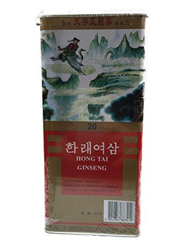 Korean Hong Tai Red Ginseng 六年根 20支 300grams 韓泰麗參 韩泰丽参 Free Worldwide AIR Mail by Hong Tai Red Ginseng