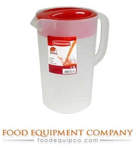 Rubbermaid 1777155 Plastic Pitcher Economy Pitcher 1 gallon polyethylene - Case