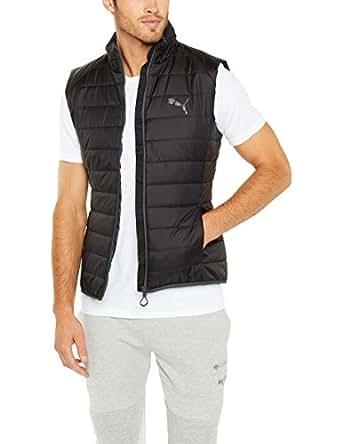 PUMA Men's Ess Light Padded Vest M, Black,S