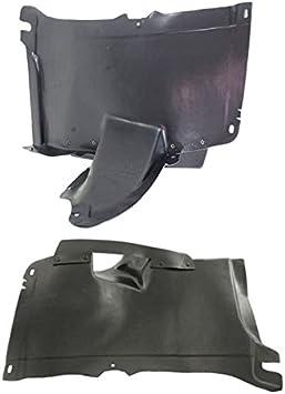 Value Front RH Fender Splash Shield for Volkswagen Rabbit OE Quality Replacement