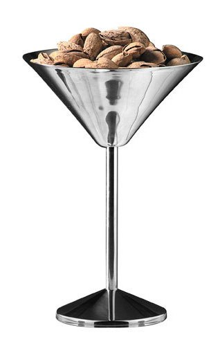 American Metalcraft (JMART15) 15'' Stainless Steel Martini Glass Server by American Metalcraft (Image #2)